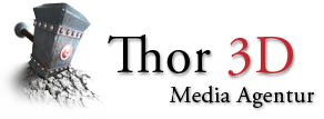 Thor 3D Logo